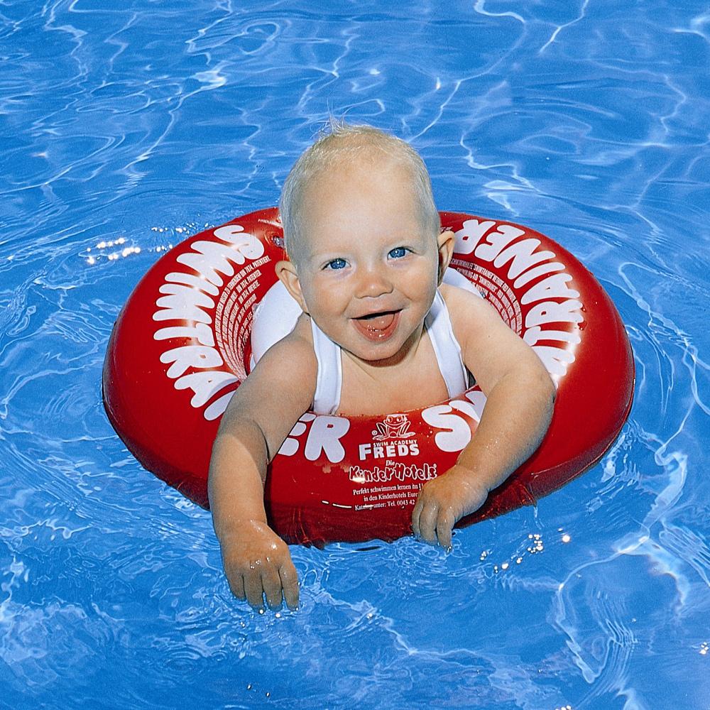 Bouée Swimtrainer à Piscine Bebe 2 Mois
