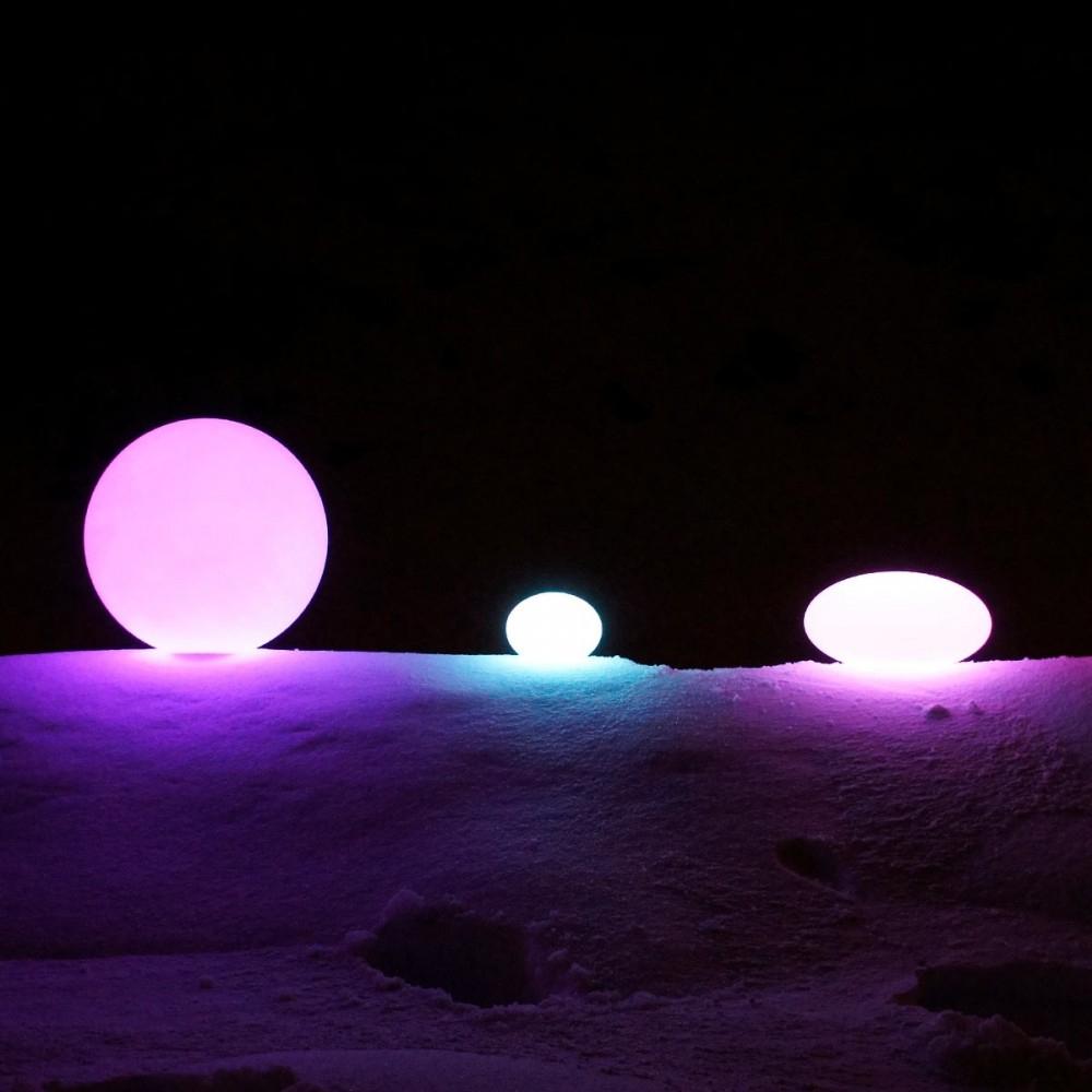 Boule Lumineuse À Led Multicolore - 20 Cm destiné Boule Lumineuse Piscine