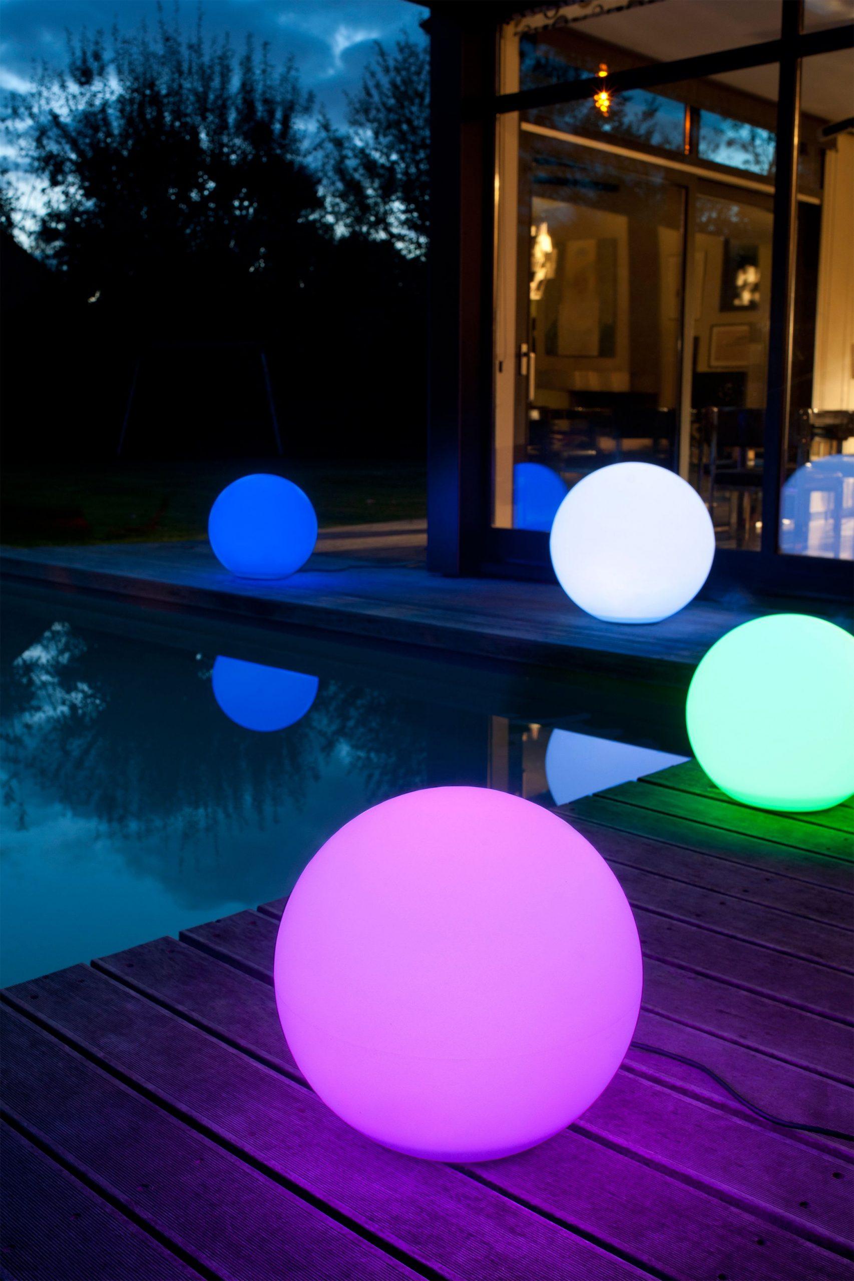 Boule Lumineuse Multicolore | Éclairage Extérieur, Boule ... intérieur Boule Lumineuse Piscine