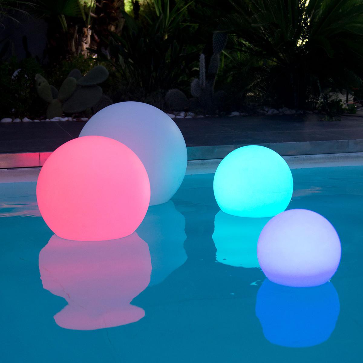 Boule Lumineuse Sans Fil - Bobby C30 intérieur Eclairage Piscine Sans Fil