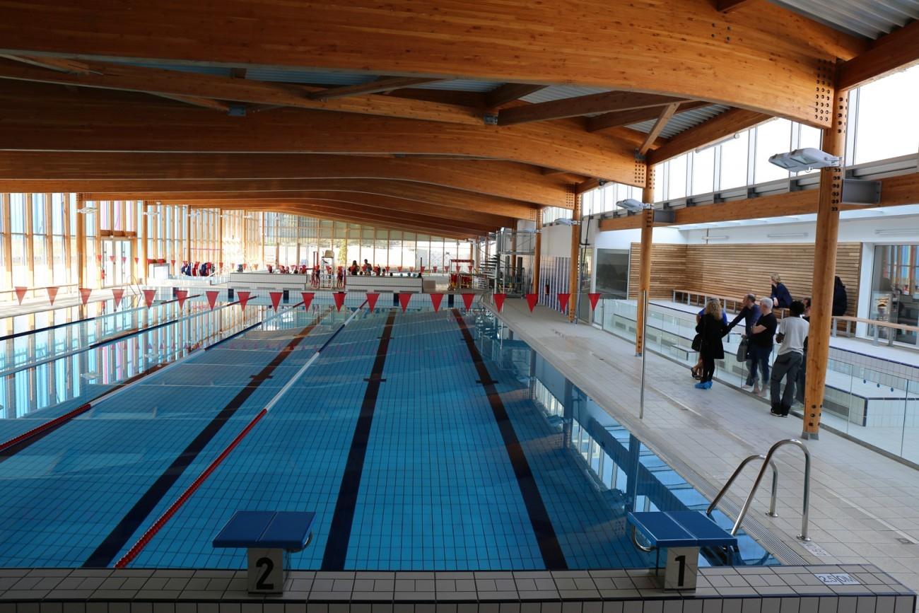 Bourgueil & Rouleau Architectes - Centre Aquatique Bulle D'o ... avec Piscine Bulle D O Joué Les Tours