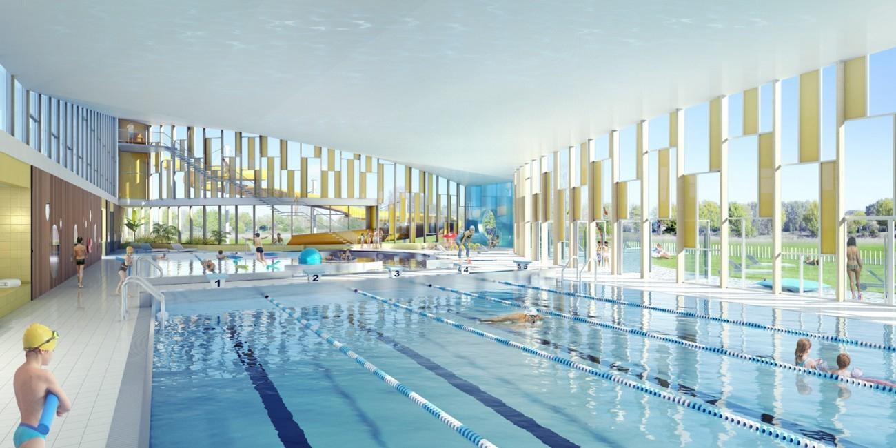 Bourgueil & Rouleau Architectes - Centre Aquatique ... encequiconcerne Piscine Saint Fulgent