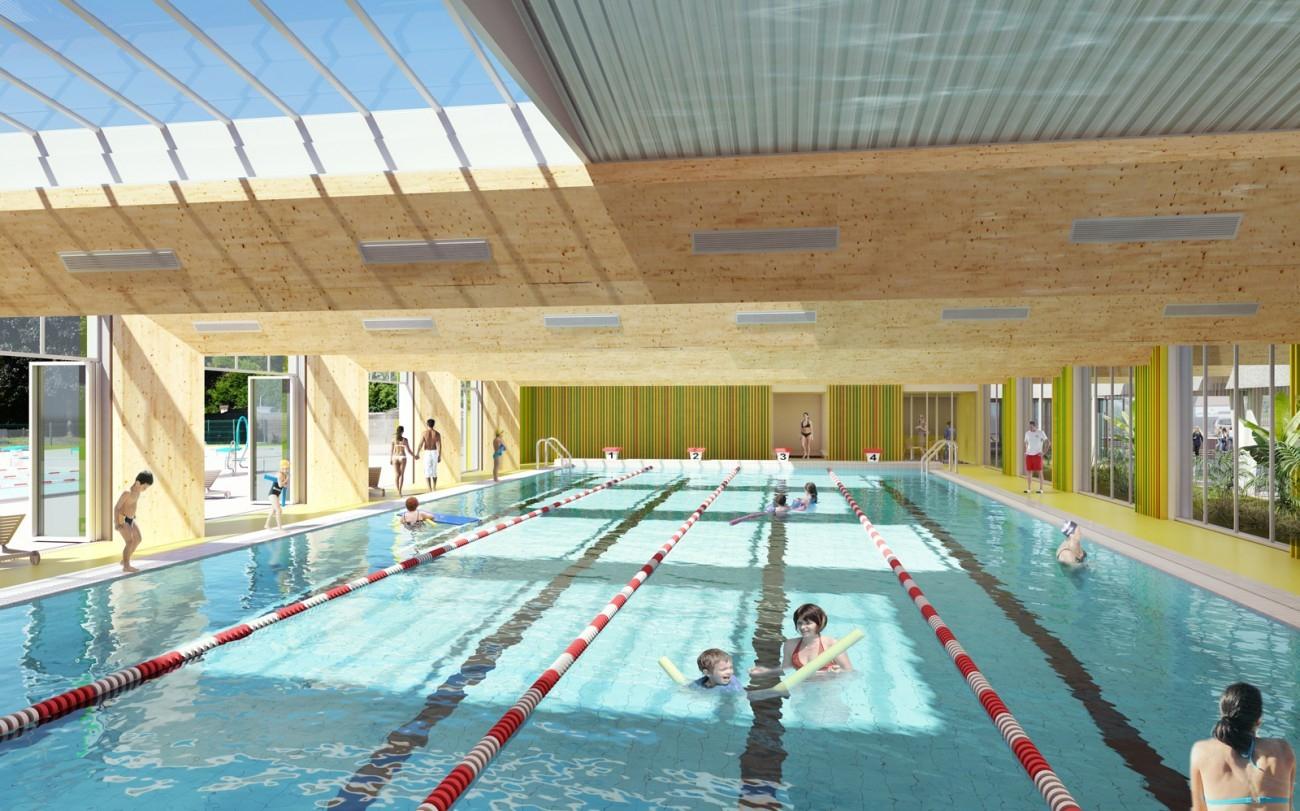 Bourgueil & Rouleau Architectes - Réhabilitation De La ... dedans Piscine De Moret Sur Loing