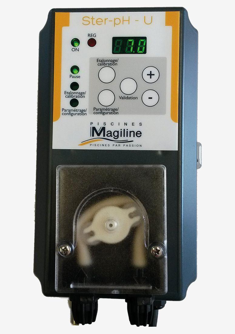 Boutique Magiline - Régulation Et Dosage pour Regulateur Ph Et Chlore Piscine