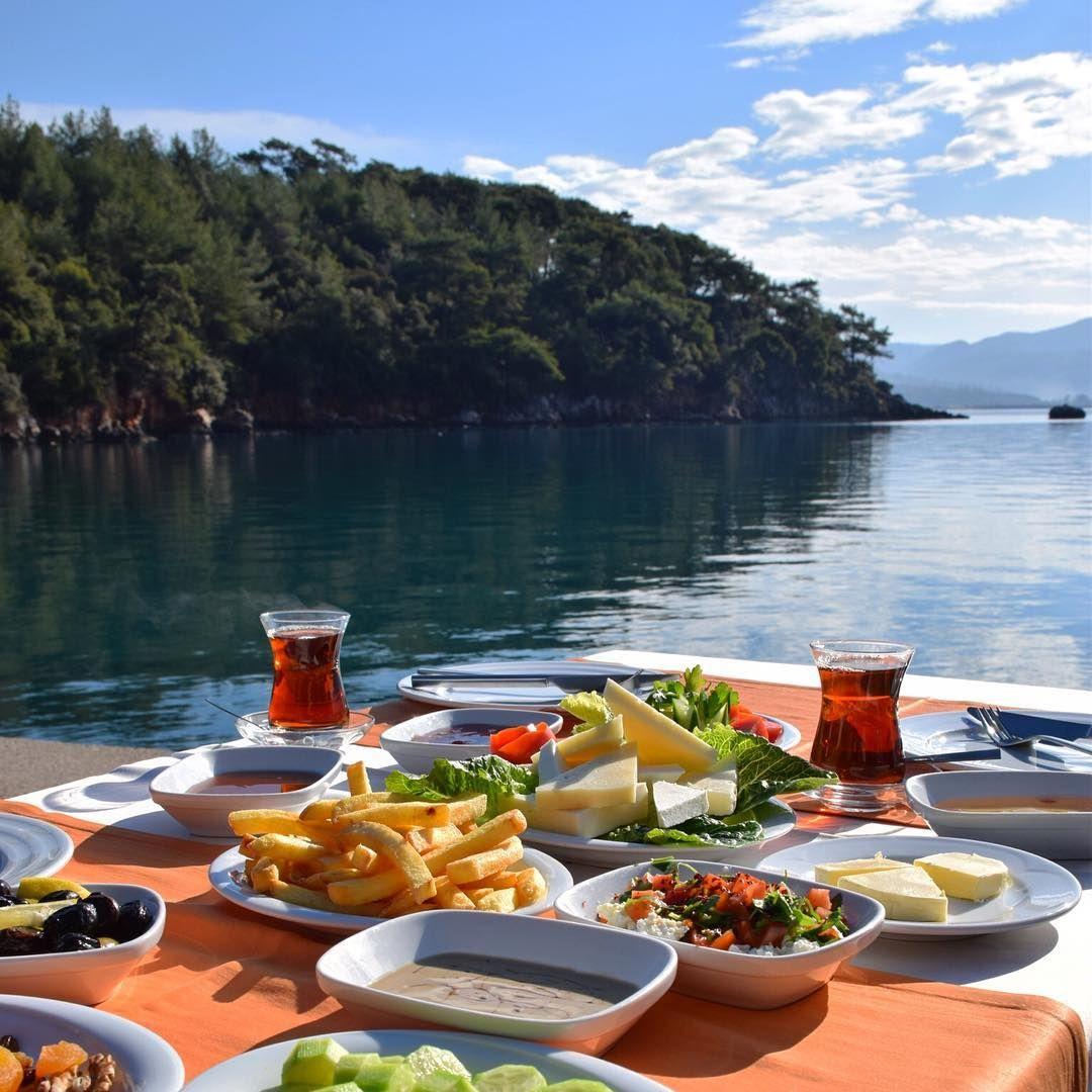 Breakfast With View ~~Akyaka, Mugla // Photography By Derya ... avec Camping Var Avec Piscine