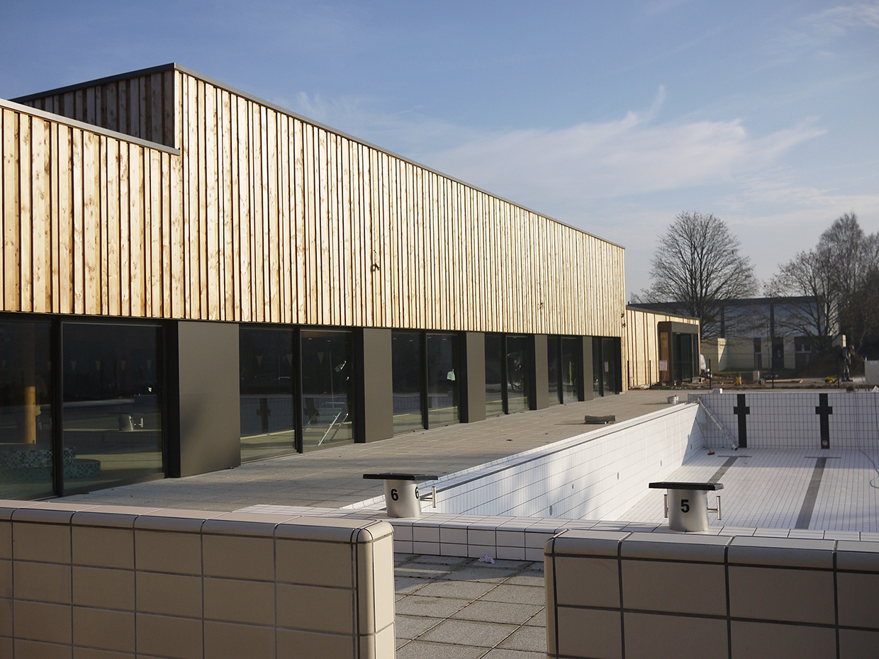 Broissand Architectes » Piscine De Coulaines tout Piscine De Coulaines