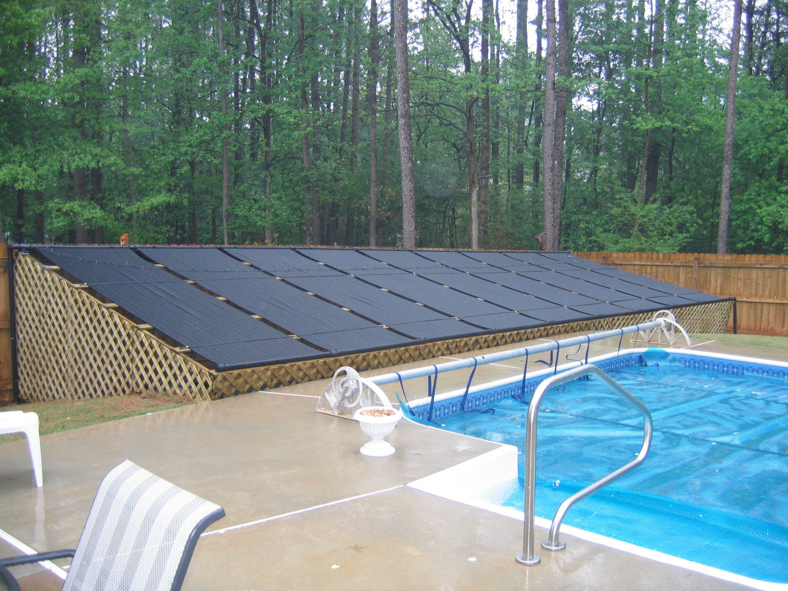 Build Your Own Solar Pool Heater For Under $100 | Piscine ... destiné Chauffe Eau Solaire Piscine