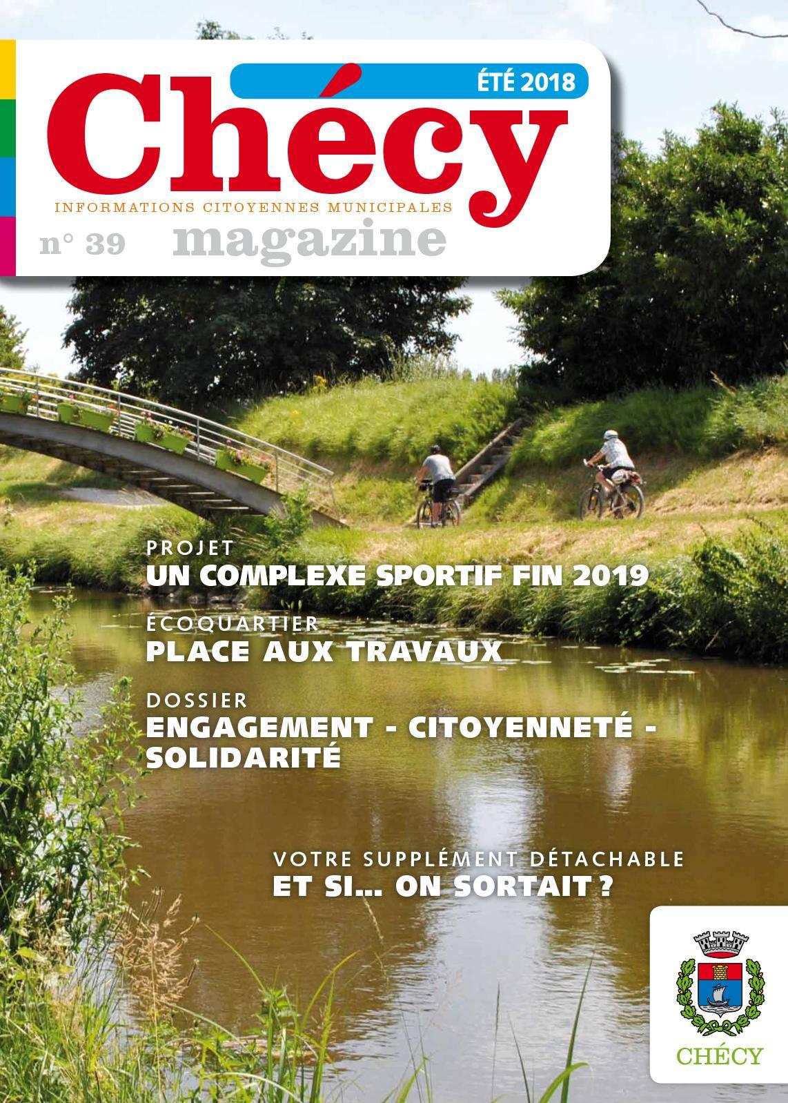 Calaméo - 39 Chécy Magazine intérieur Piscine De Checy