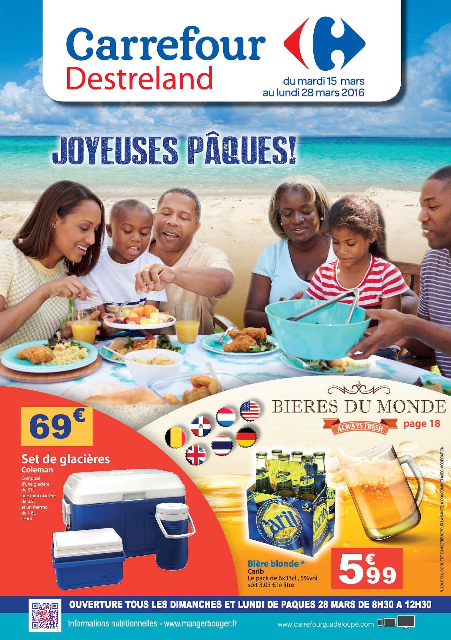 Calaméo - Carrefour Catalogue Pâques destiné Carrefour Piscine Hors Sol