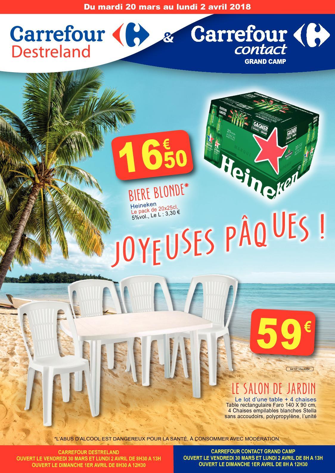 Calaméo - Carrefour Destreland Paques 2018 intérieur Carrefour Piscine Hors Sol