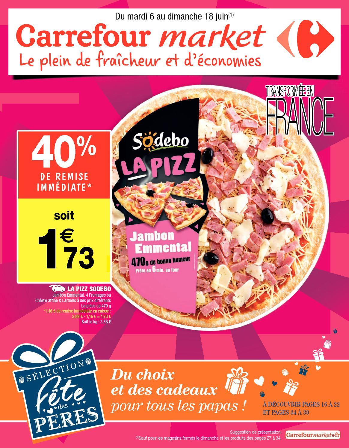 Calaméo - Carrefour Market Du 6 Au 18 Juin intérieur Dalle Mousse Piscine Carrefour