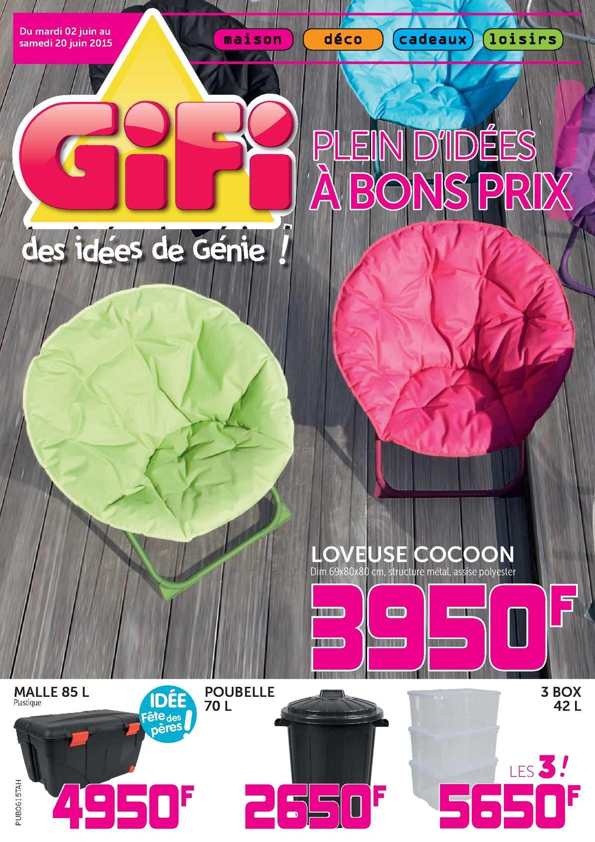Calaméo - Catalogue Gifi Tahiti - Juin 2015 avec Piscine A Balle Gifi