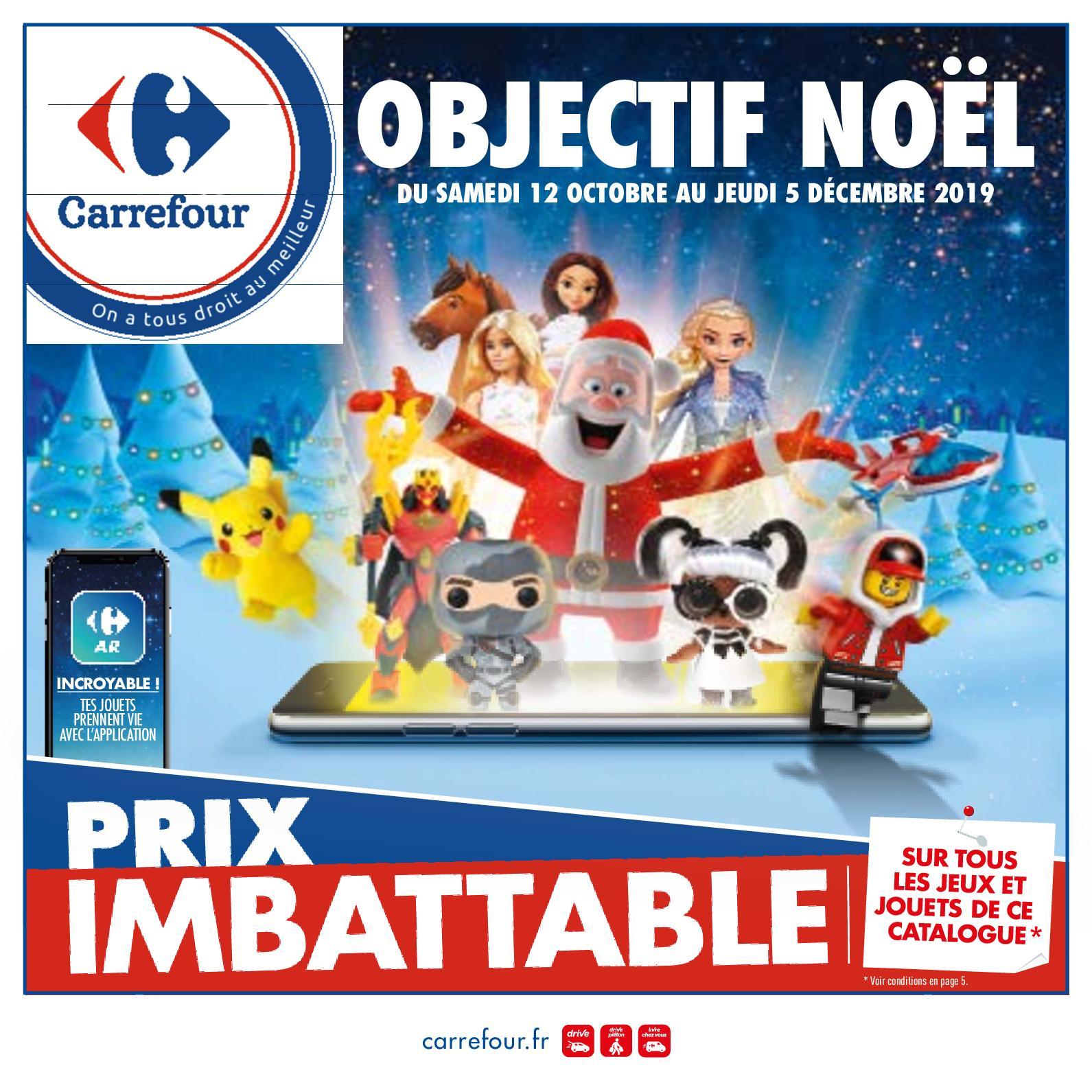 Calaméo - Catalogue Jouets Hypermarchés Carrefour tout Couche Piscine Carrefour
