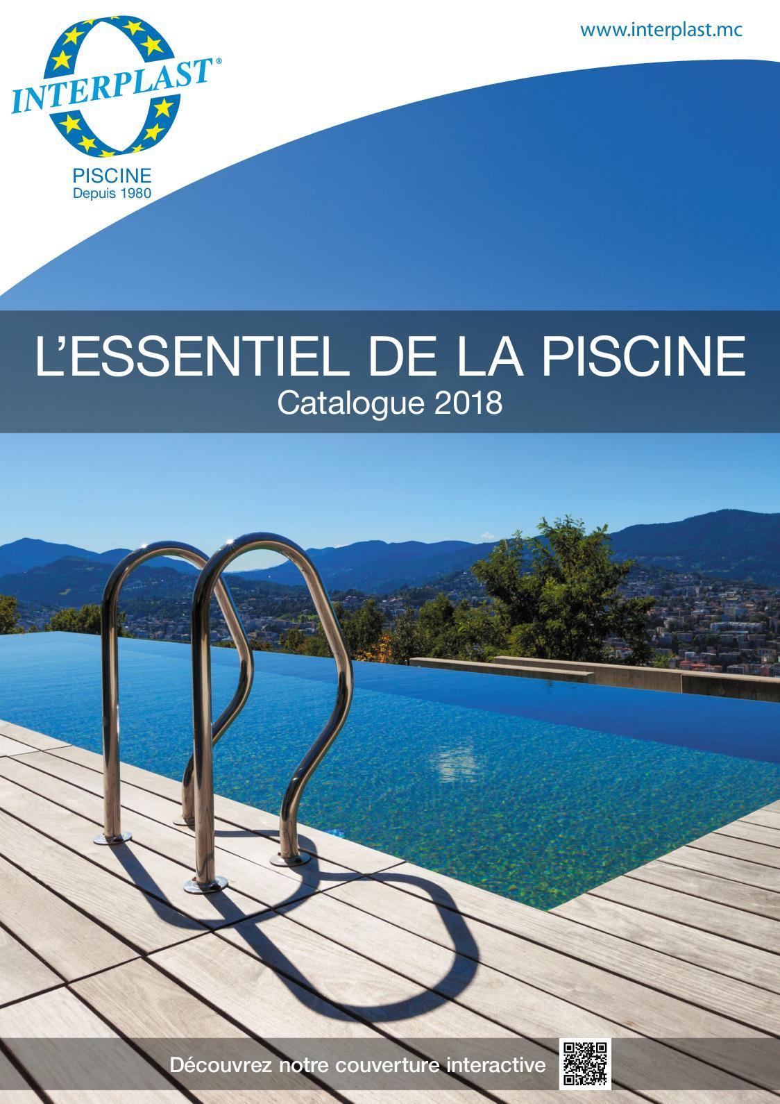 Calaméo - Catalogue Piscine 2018 - Interplast pour Piscine Encastrable