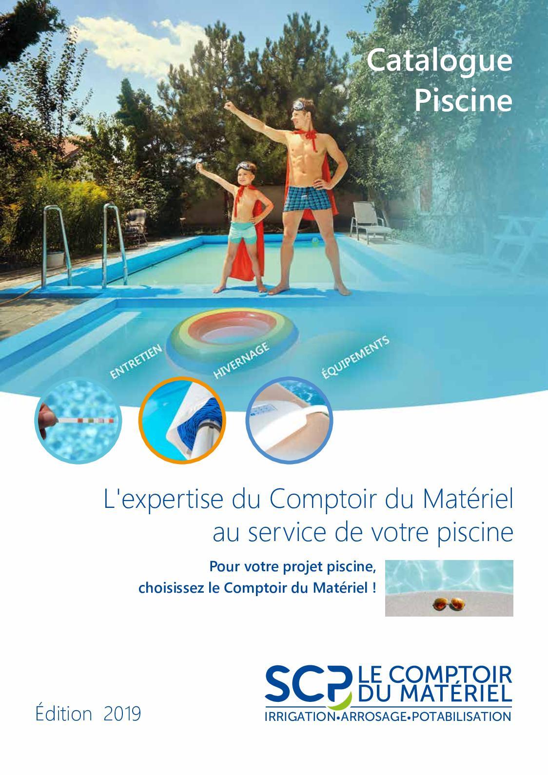 Calaméo - Catalogue Piscine 2019 tout Sulfate De Cuivre Pour Piscine