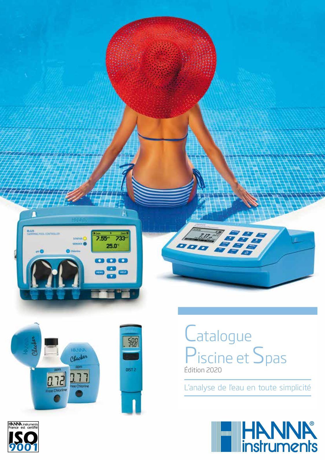 Calaméo - Catalogue Piscines Et Spas Édition 2020 avec Thermometre Piscine Connecté