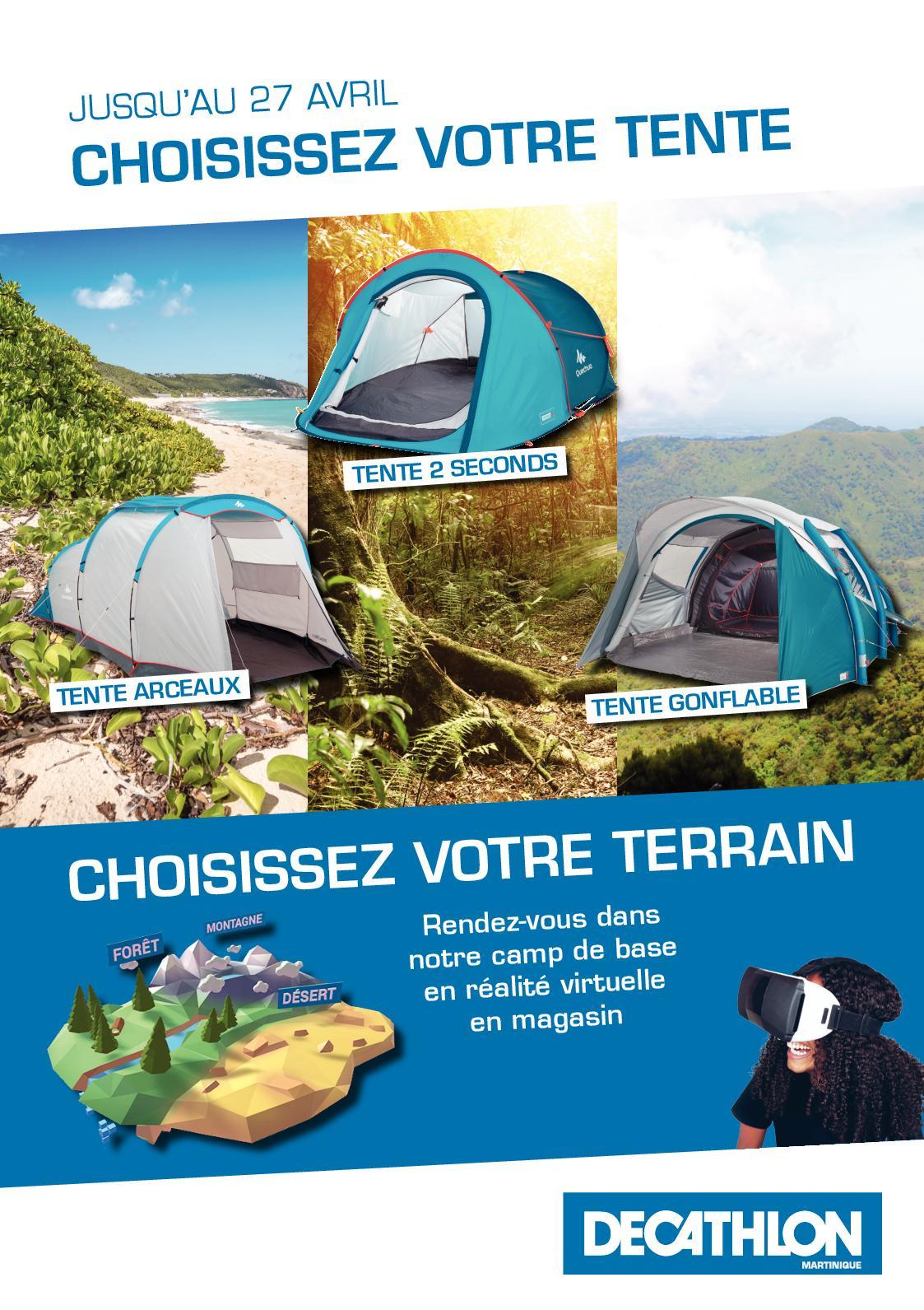 Calaméo - Decathlon Martinique : Choisissez Votre Tente dedans Matelas Gonflable Piscine Decathlon