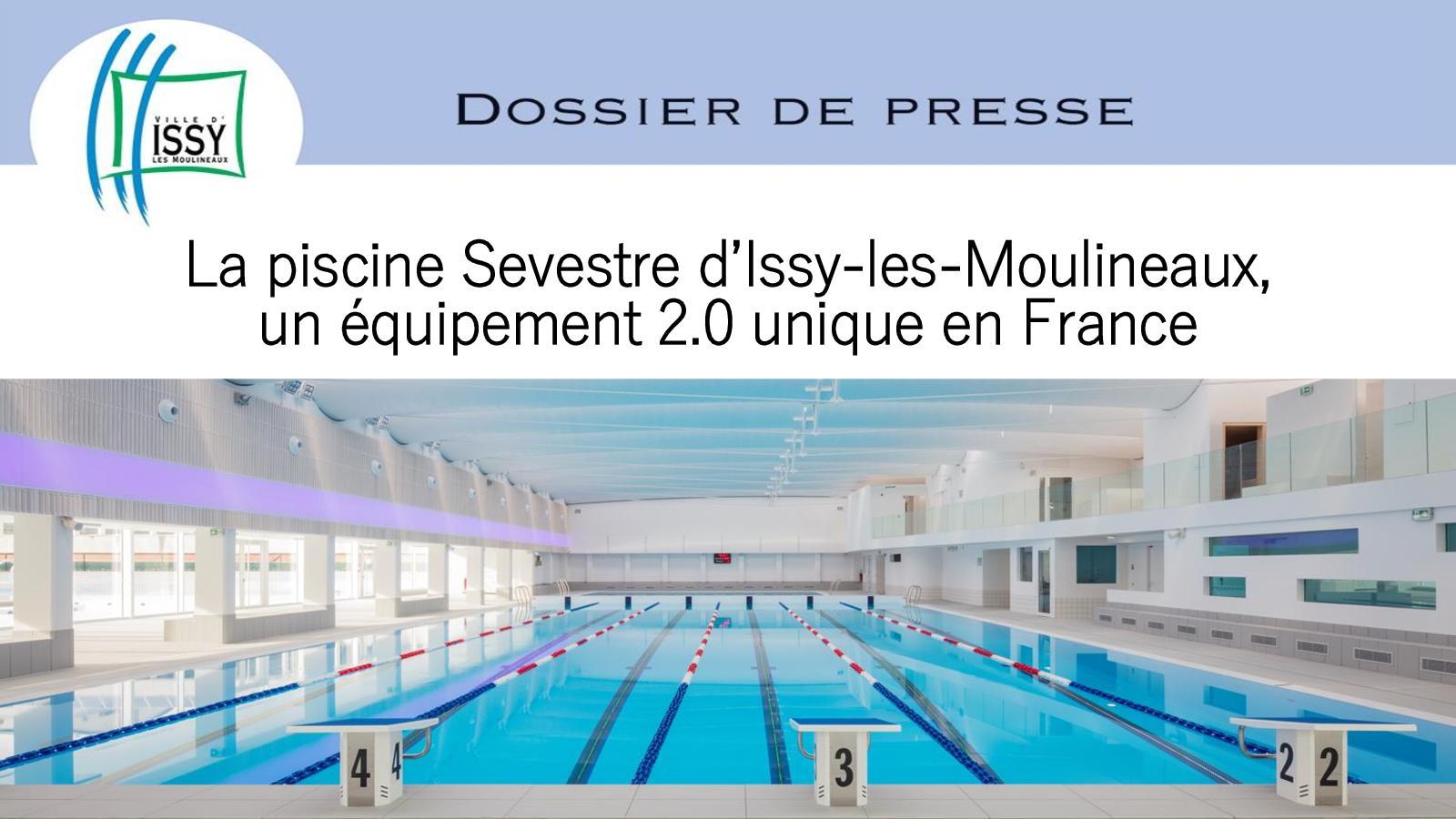 Calaméo - Dossier De Presse Piscine Sevestre : Un Équipement ... serapportantà Piscine Sevestre Issy Les Moulineaux