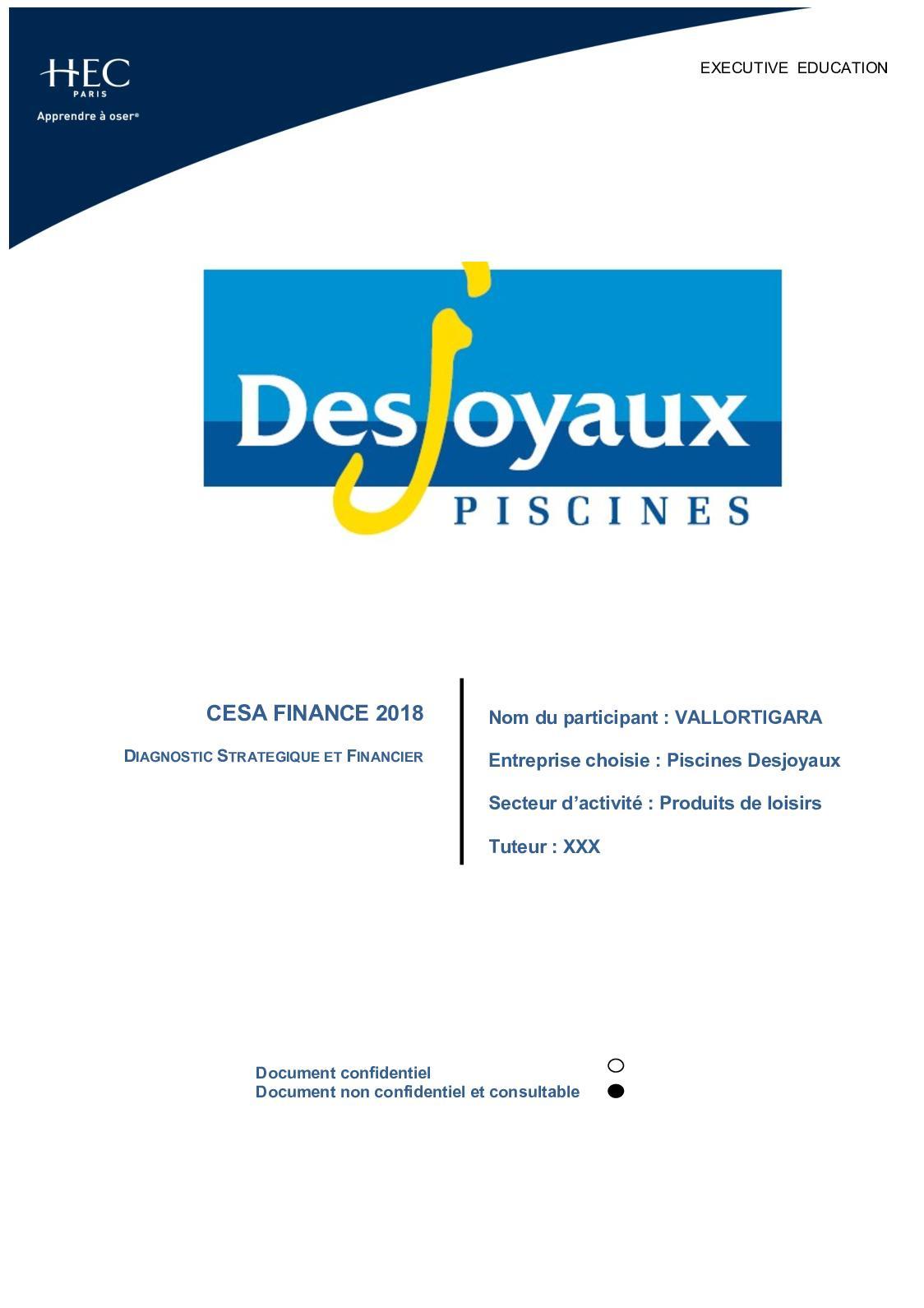 Calaméo - Dsf destiné Piscine Desjoyaux Prix 2017