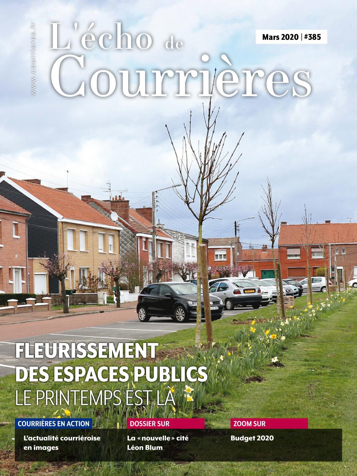 Calaméo - Echo De Courrières N°385 (Mars 2020) avec Piscine De Courrieres