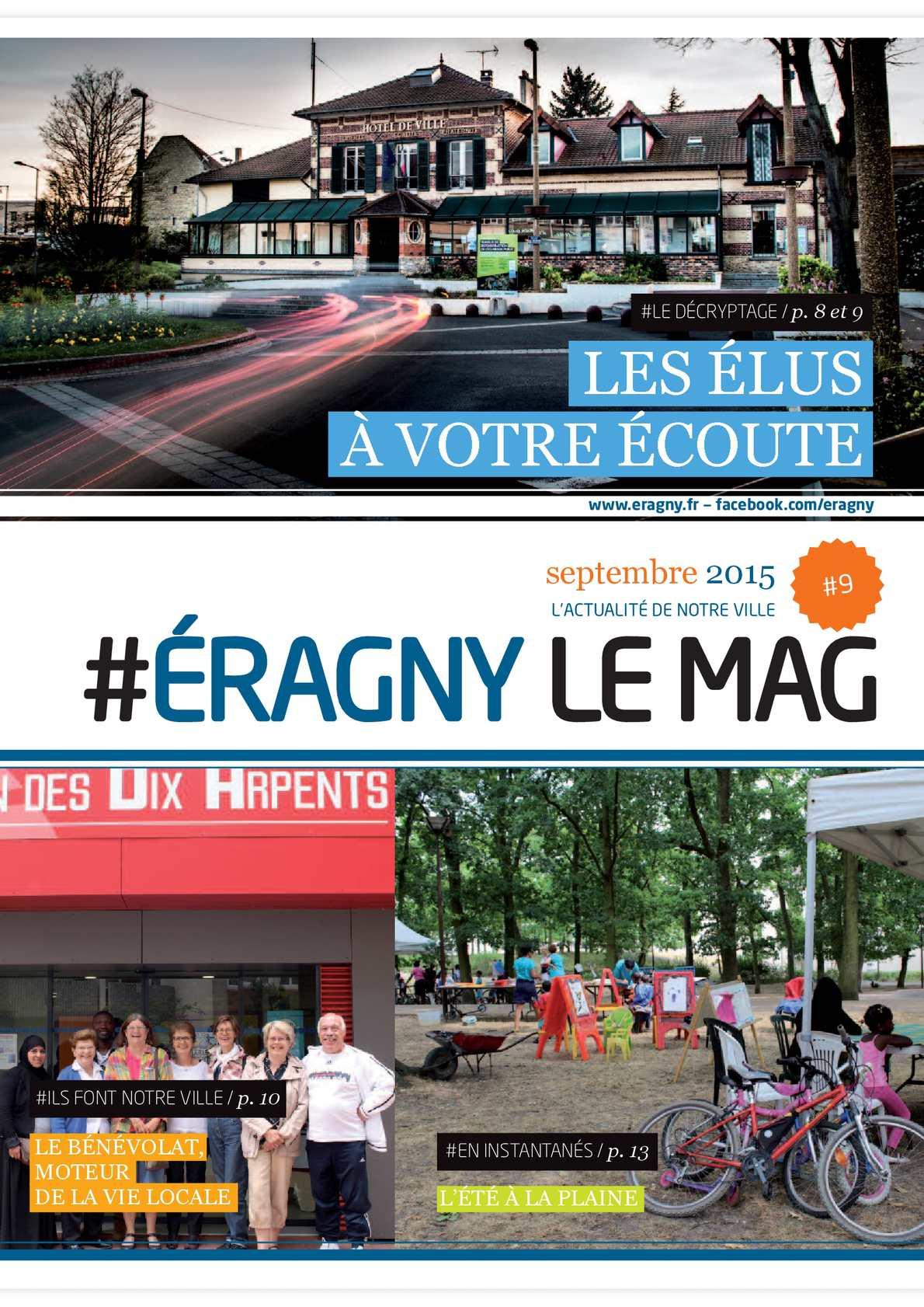 Calaméo - Eragny Le Mag #9 Septembre 2015 à Piscine Eragny