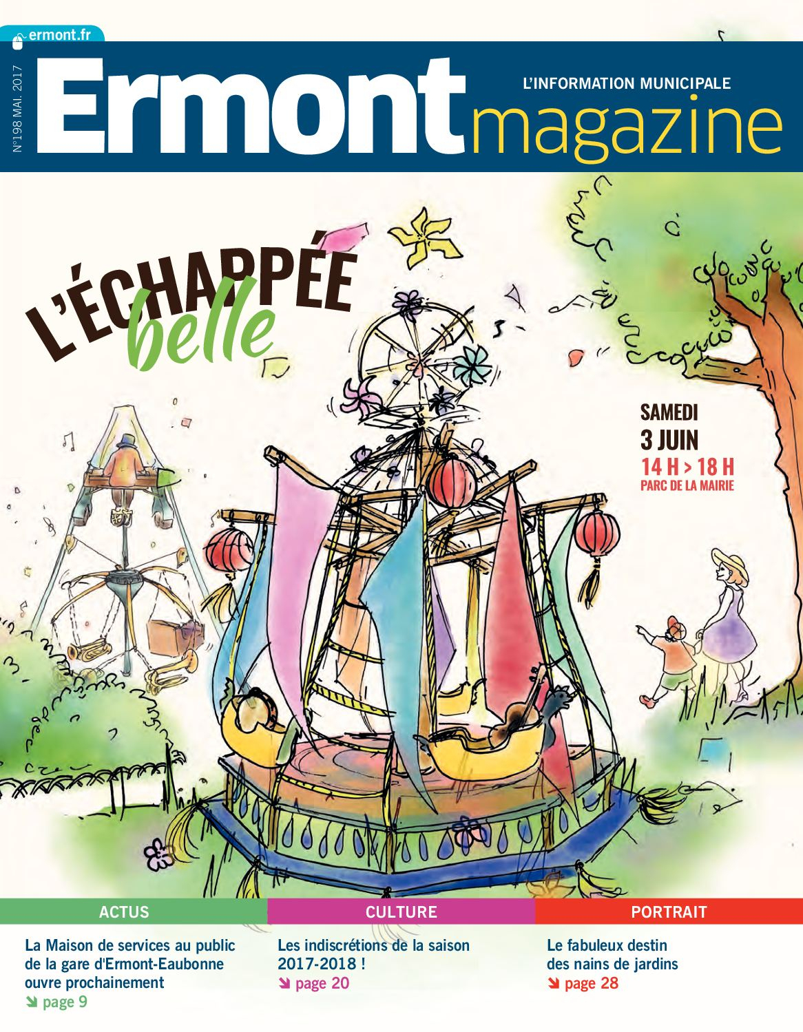 Calaméo - Ermont Magazine N198 Mai 2017 concernant Piscine Ermont