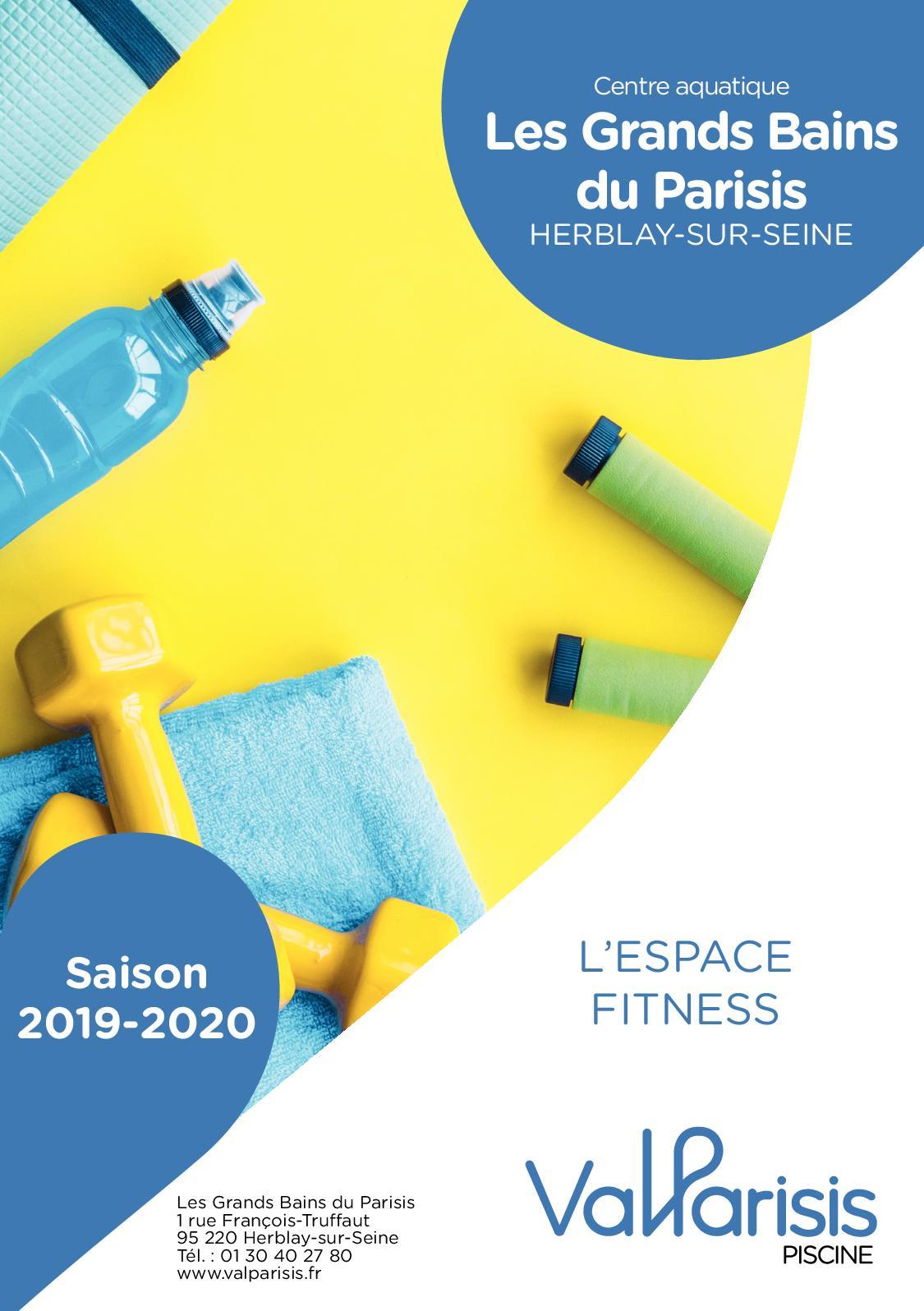 Calaméo - Flyer Fitness Saison 2019-2020 destiné Piscine D Herblay