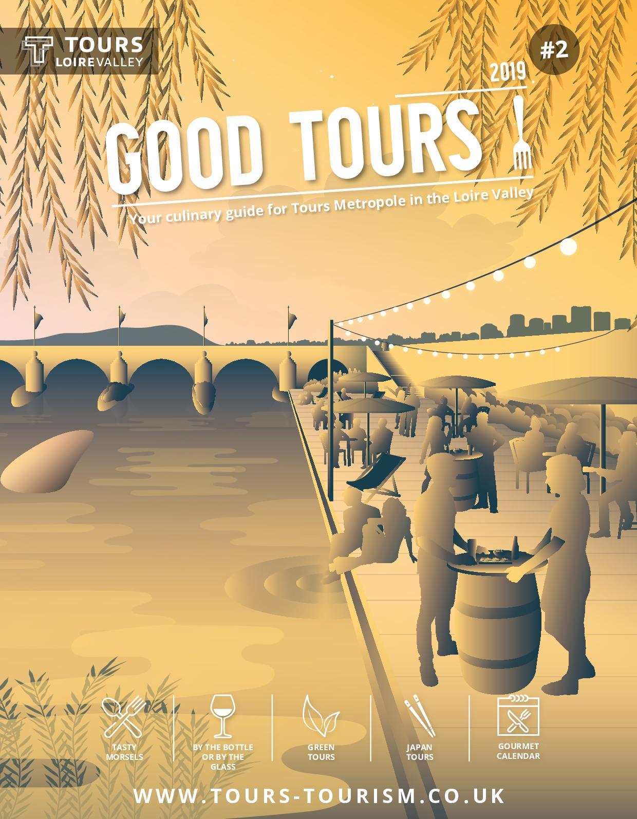 Calaméo - Good Tours 2019 - Culinary Guide serapportantà Piscine Chambray Les Tours