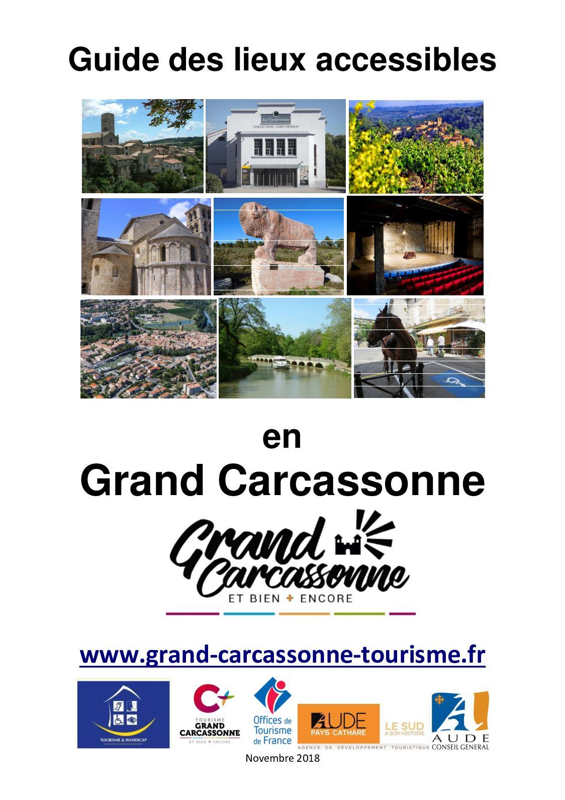 Calaméo - Guide Des Lieux Accéssibles Grand Carcassonne pour Piscine Grazailles