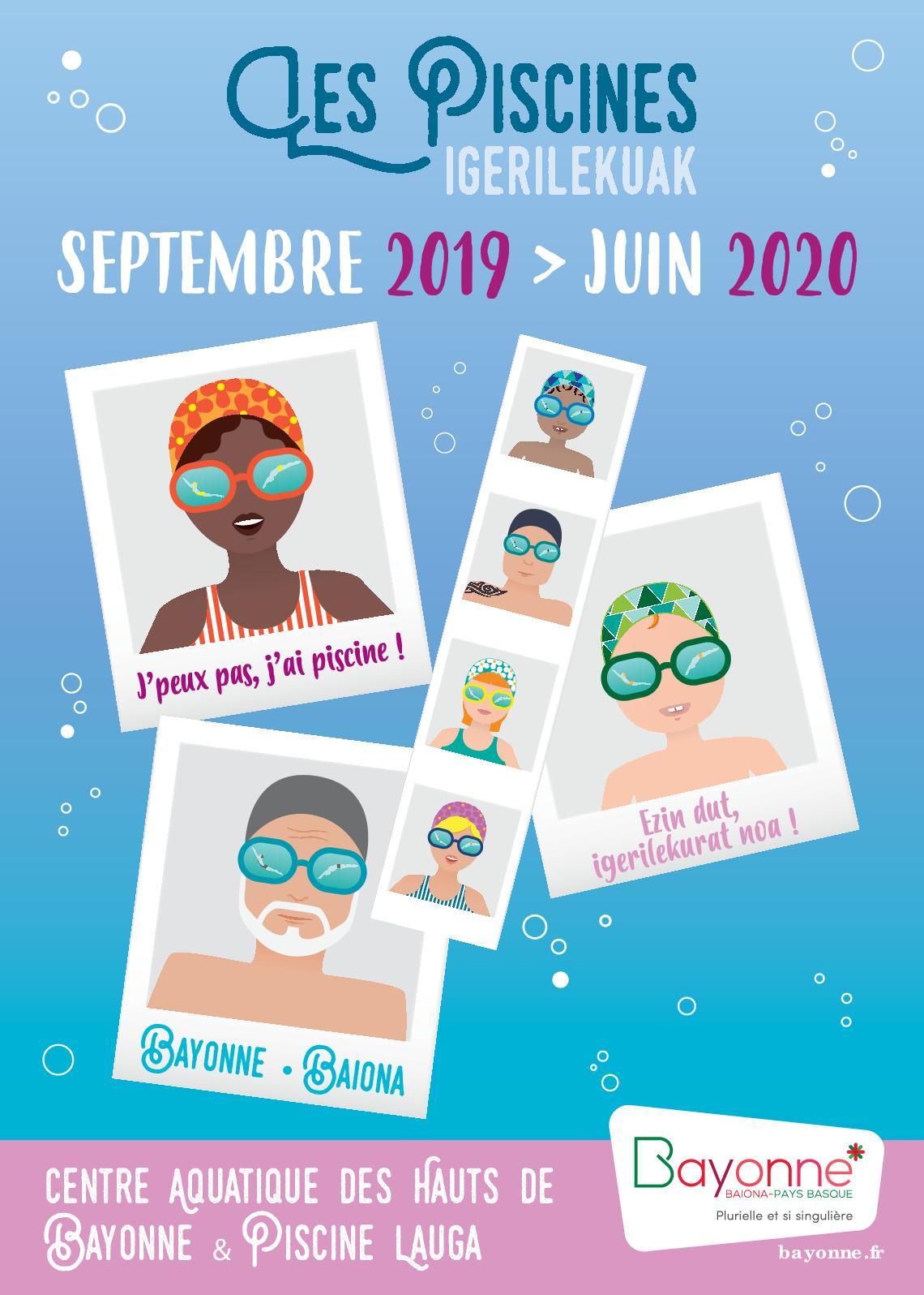 Calaméo - Guide Des Piscines 2019-2020 concernant Centre Aquatique Des Hauts De Bayonne Piscine Bayonne