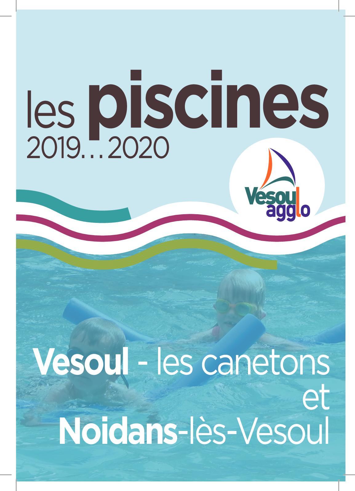 Calaméo - Guide Des Piscines 2019 avec Piscine Vesoul