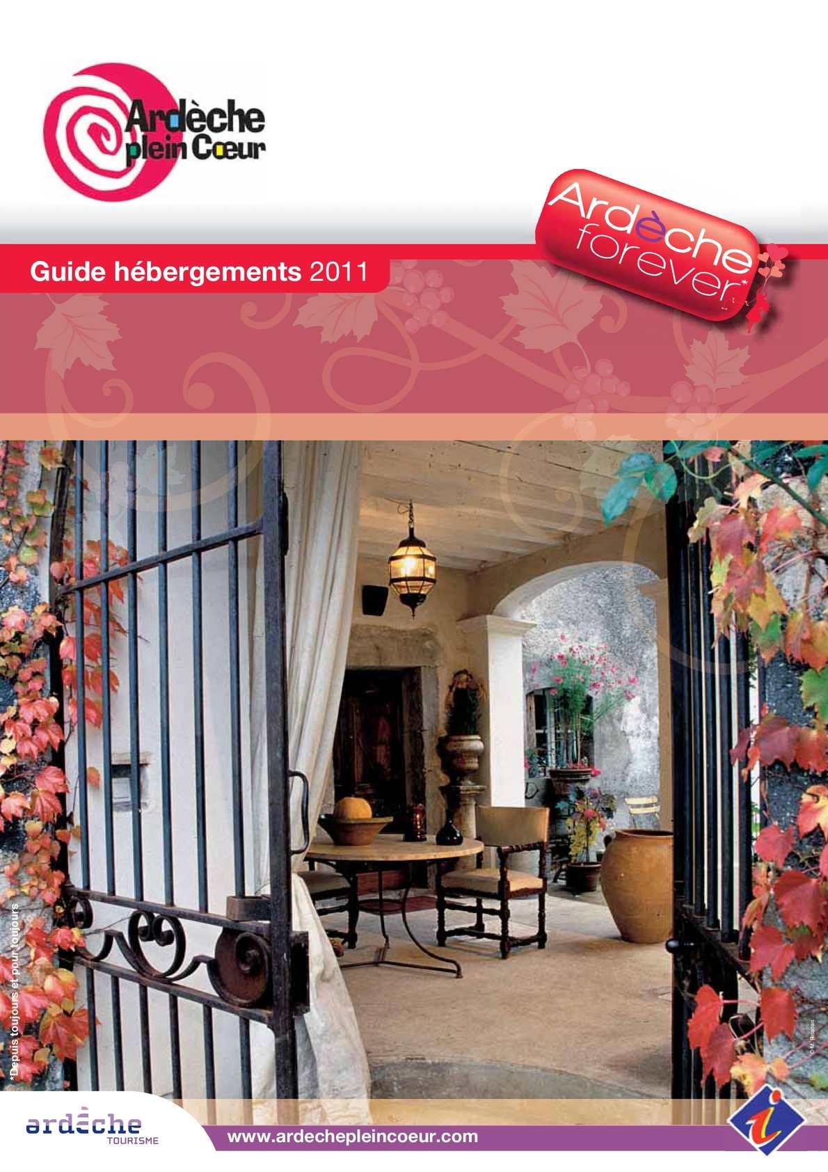 Calaméo - Guide Hébergements Apc 2011 intérieur Piscine Saint Peray