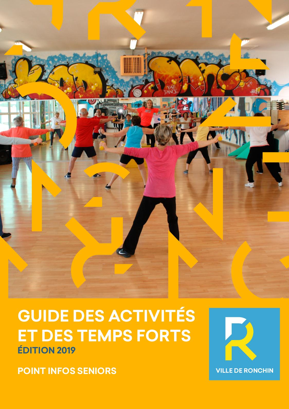 Calaméo - Guide Seniors - Ronchin 2018 tout Horaire Piscine Ronchin