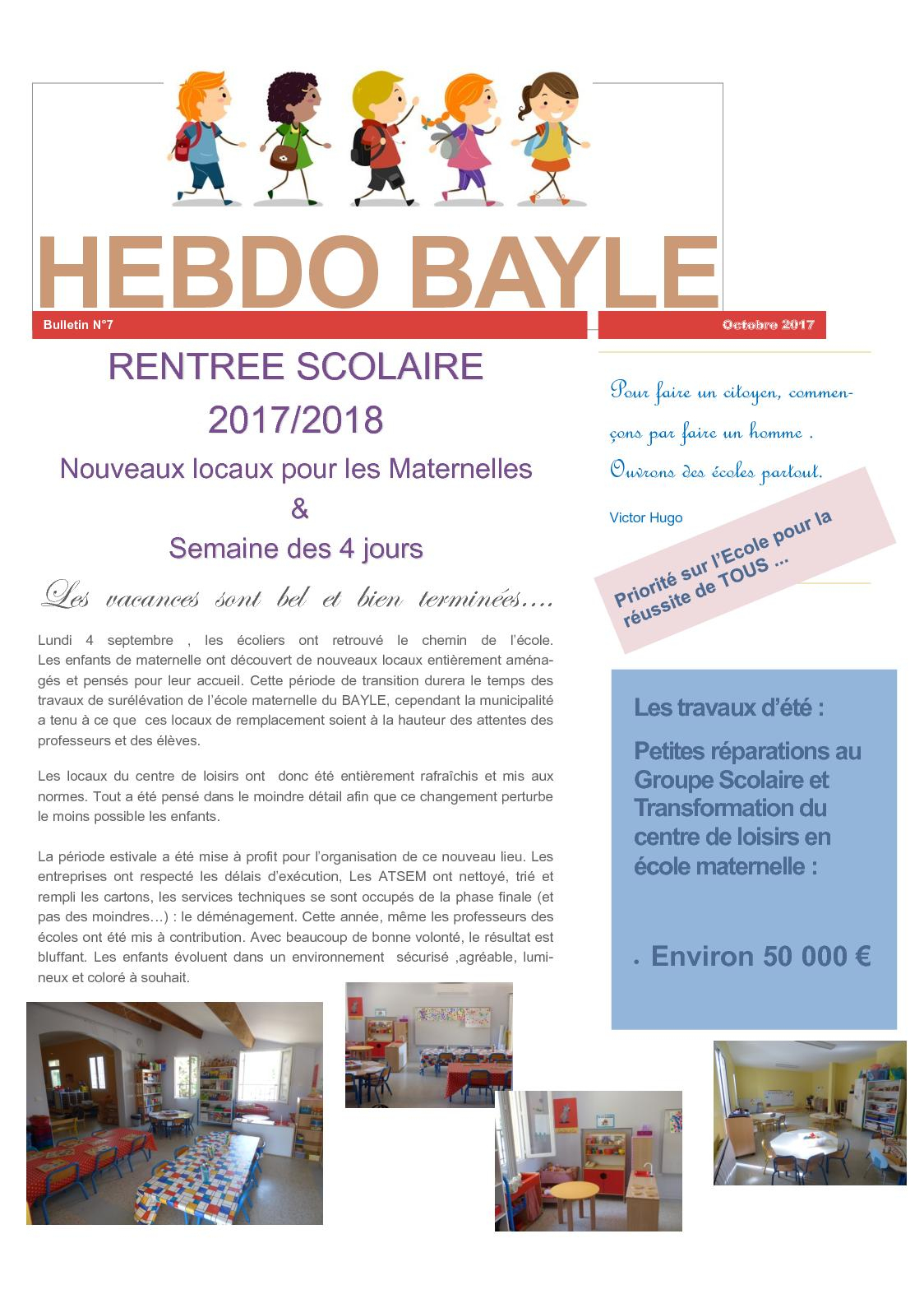 Calaméo - Hebobayle N°7 serapportantà Piscine Harjes