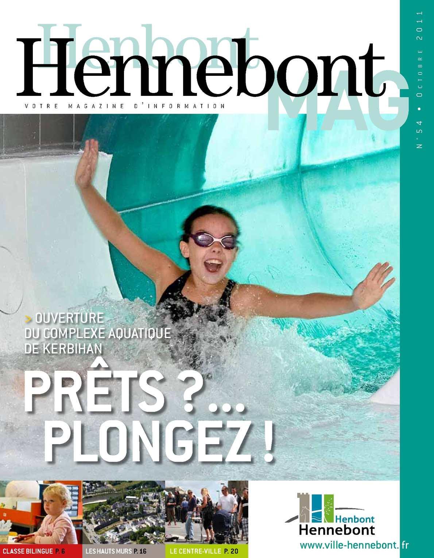 Calaméo - Hennebont Mag N 54 destiné Horaire Piscine Hennebont