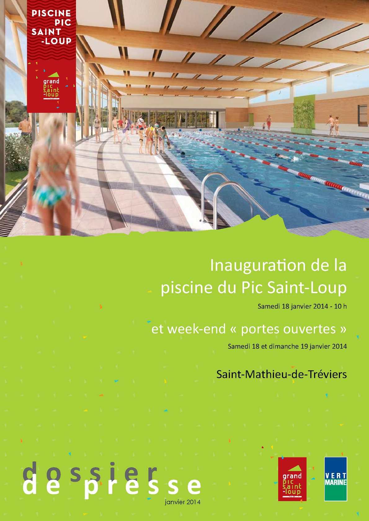 Calaméo - Inauguration De La Piscine Du Pic Saint-Loup encequiconcerne Piscine St Mathieu De Treviers