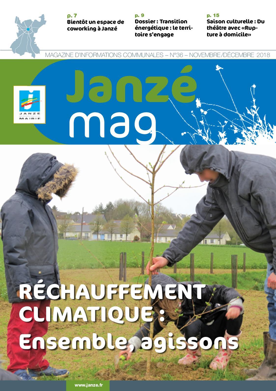 Calaméo - Janze Mag N°36 - Novembre/decembre 2018 à Piscine Janzé