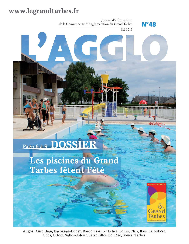 Calaméo - L'agglo - Journal Du Grand Tarbes N°48 encequiconcerne Piscine Tarbes