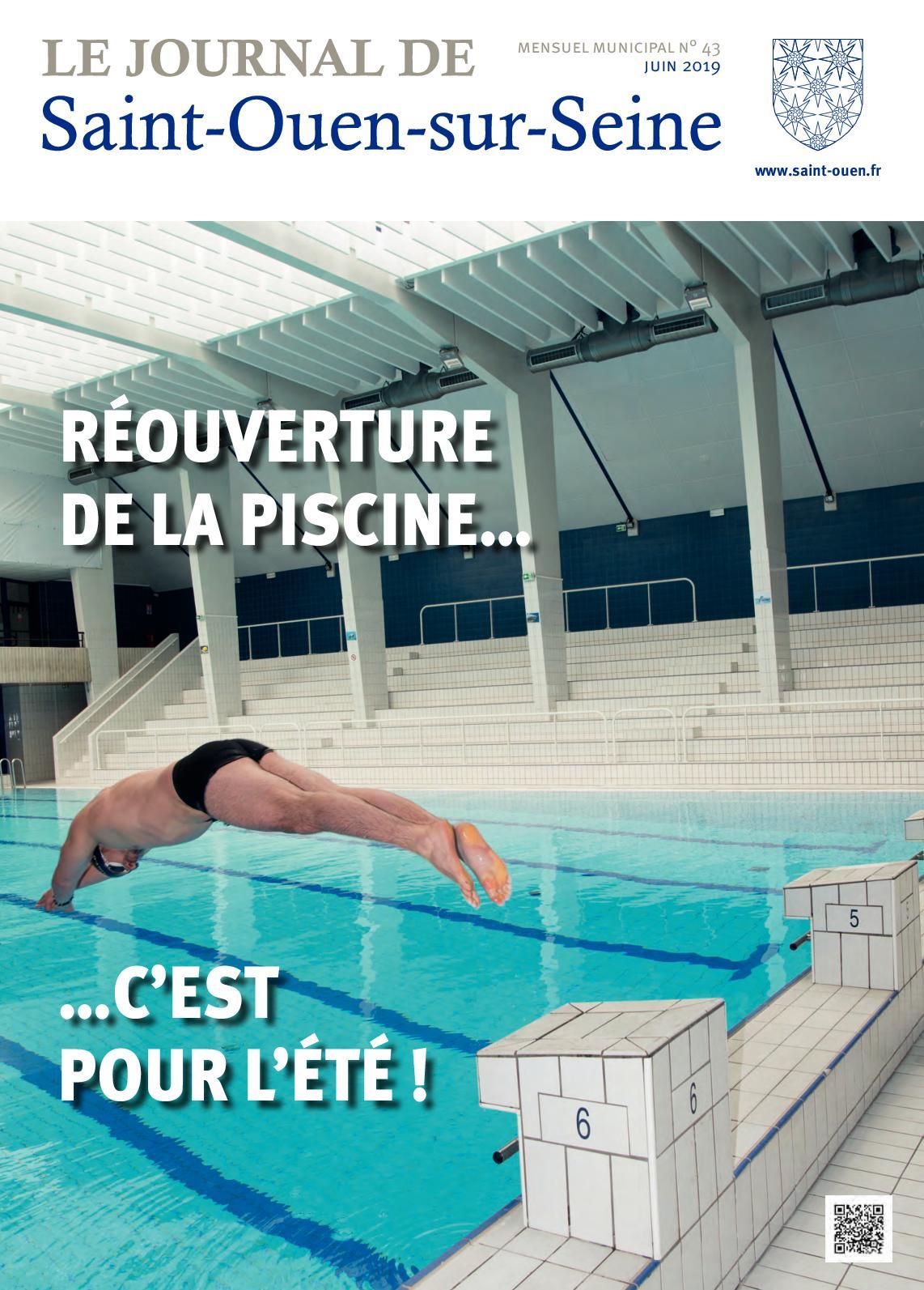 Calaméo - Le Journal De Saint-Ouen-Sur-Seine (N°43 - Juin 2019) intérieur Piscine Chatillon Sur Seine