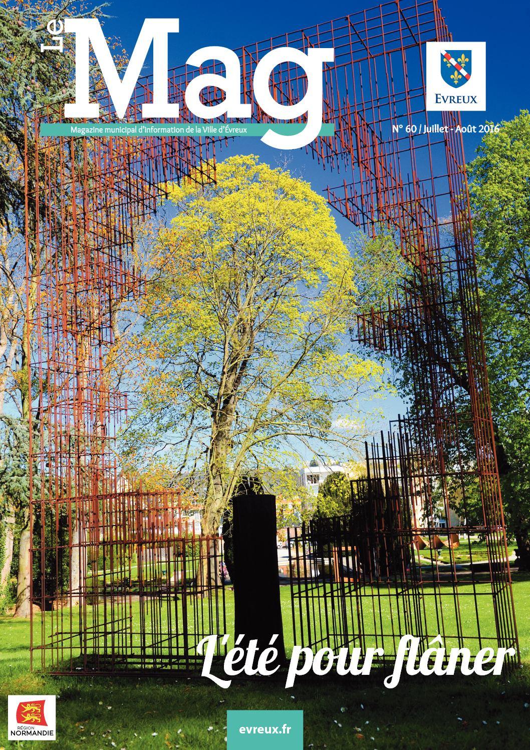 Calaméo - Le Mag - Magazine De La Ville D'evreux - N°60 Juillet encequiconcerne Piscine Jean Bouin Évreux