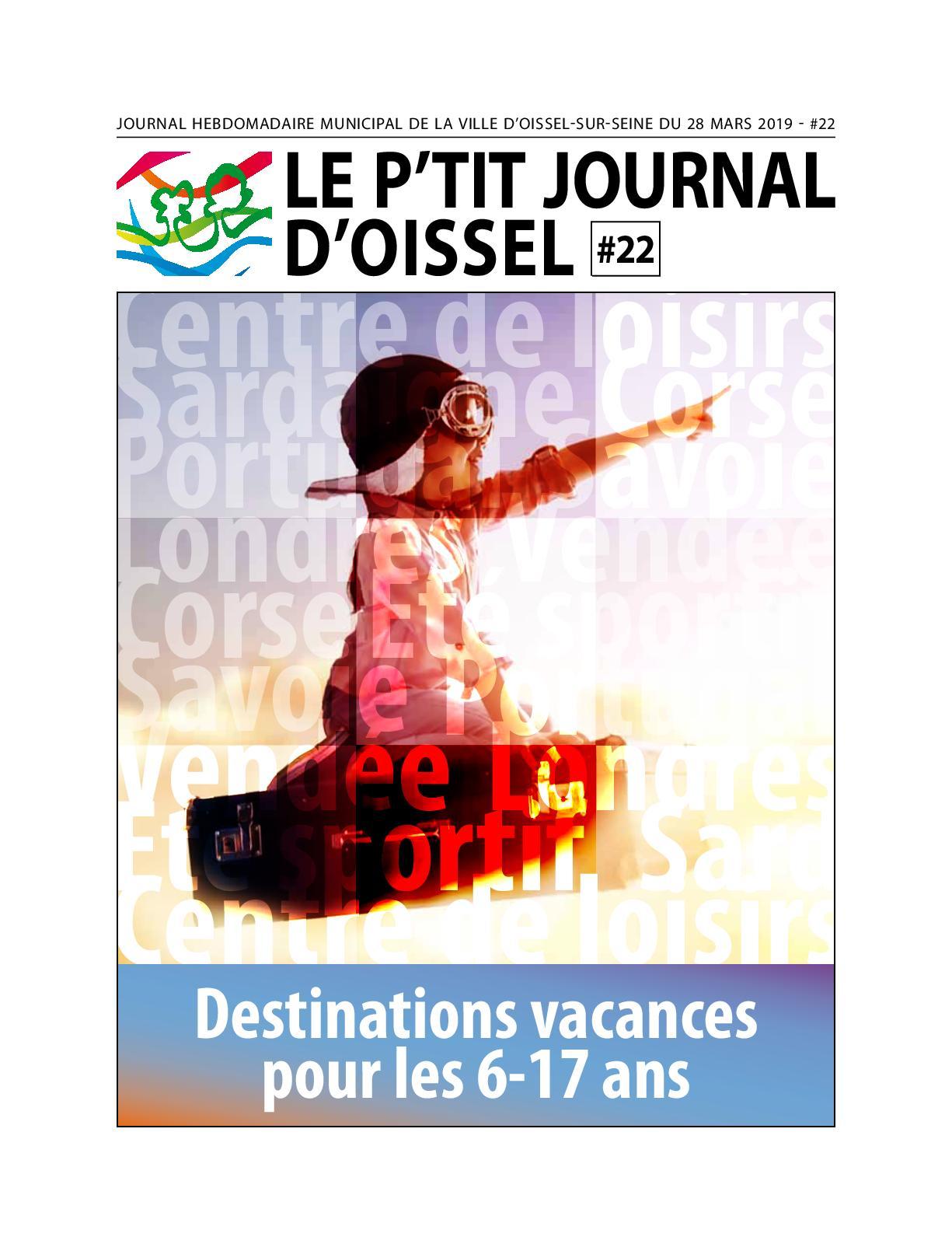Calaméo - Le P'tit Journal D'oissel #22 pour Piscine Pavilly