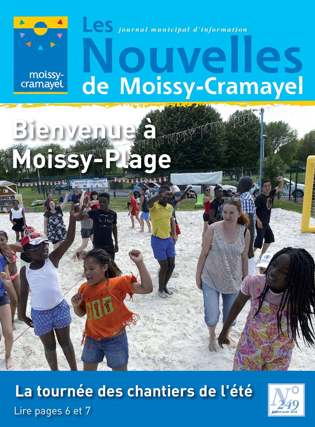 Calaméo - Les Nouvelles De Juillet-Août pour Piscine De Moissy Cramayel