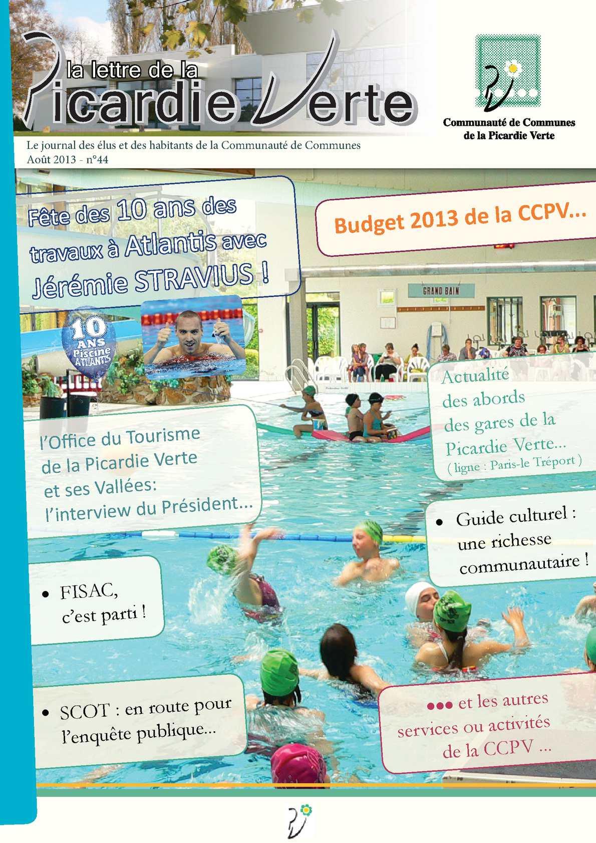 Calaméo - Lettre Ccpv N°44 Mod pour Piscine Grandvilliers