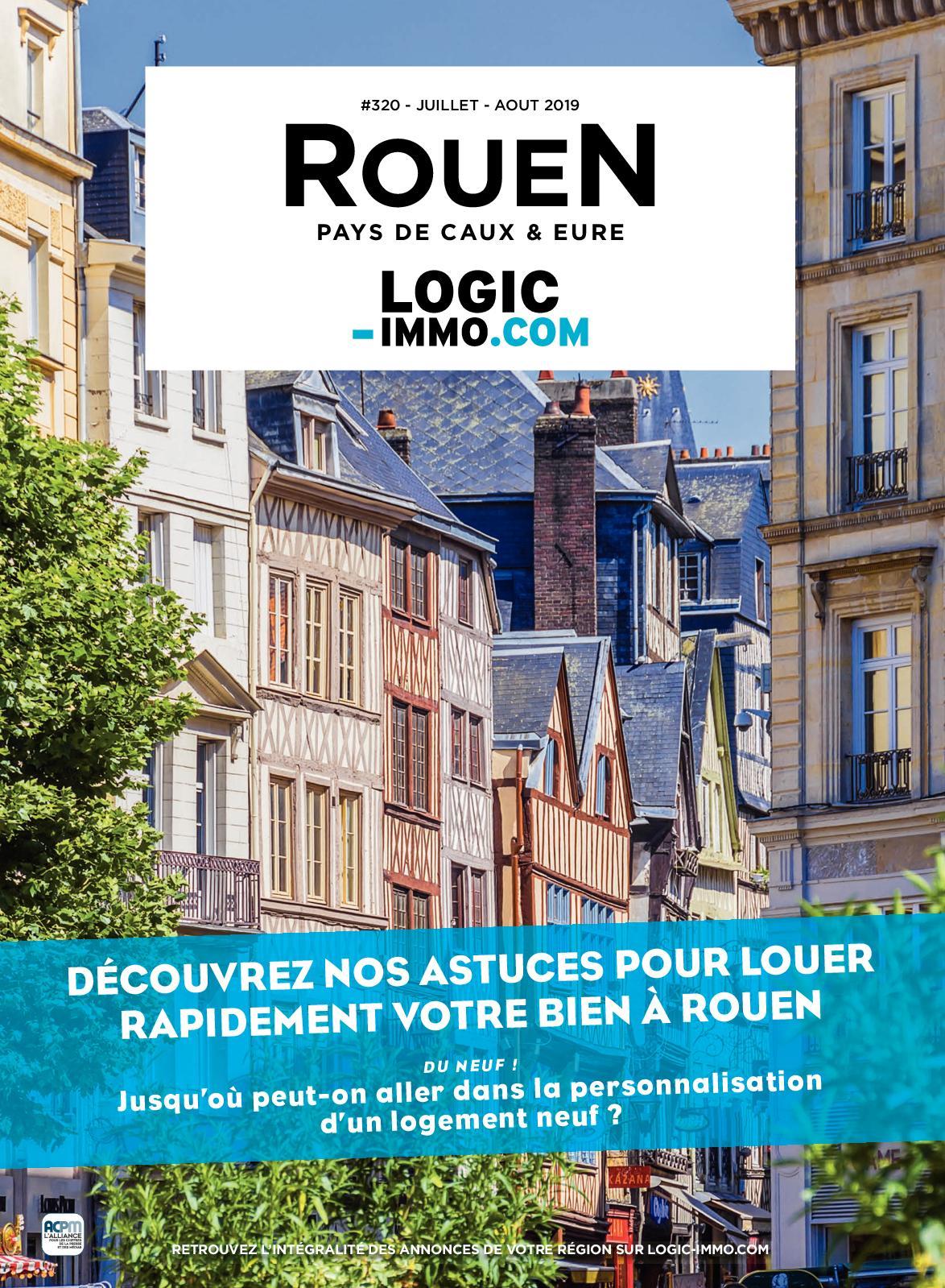 Calaméo - Logic Immo Rouen Pays De Caux & Eure #320 concernant Piscine Pavilly