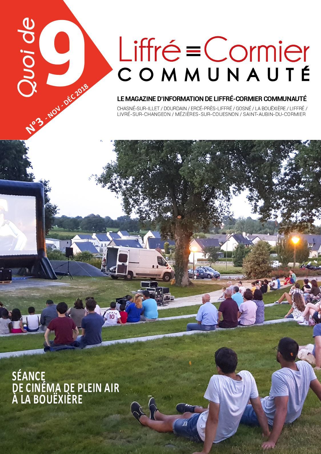 Calaméo - Magazine Intercommunal : Quoi De 9 N°3 serapportantà Piscine Liffré