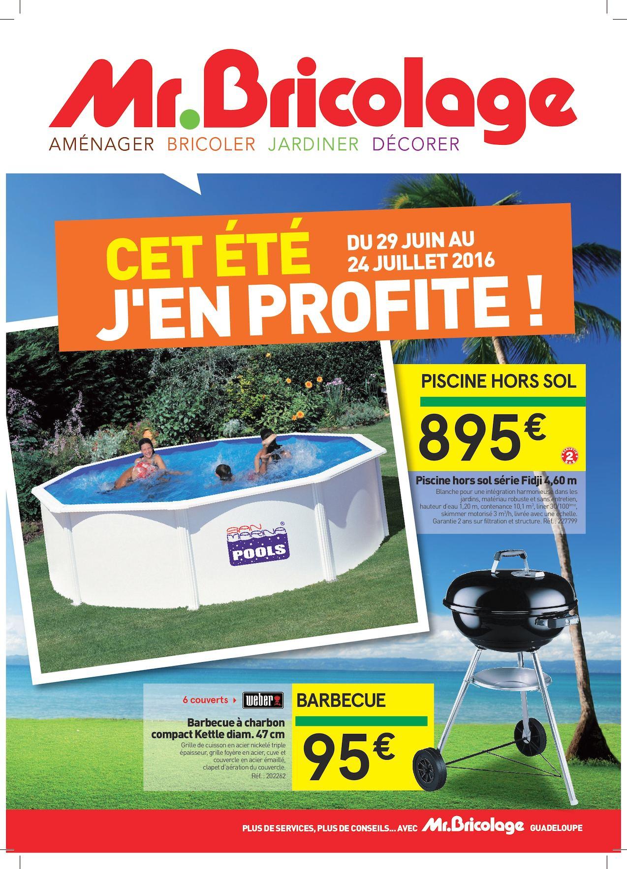 Calaméo - Mr Bricolage - C'est Les Vacances, J'en Profites ! encequiconcerne Mr Bricolage Piscine