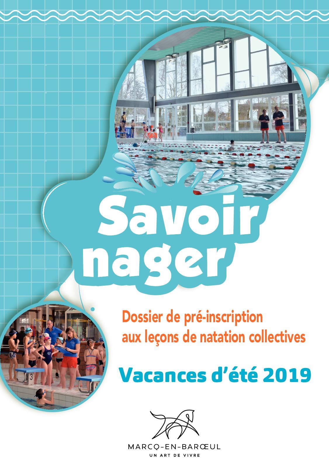 Calaméo - Piscine Dossier Leçons Été 2019 pour Piscine Marcq En Baroeul