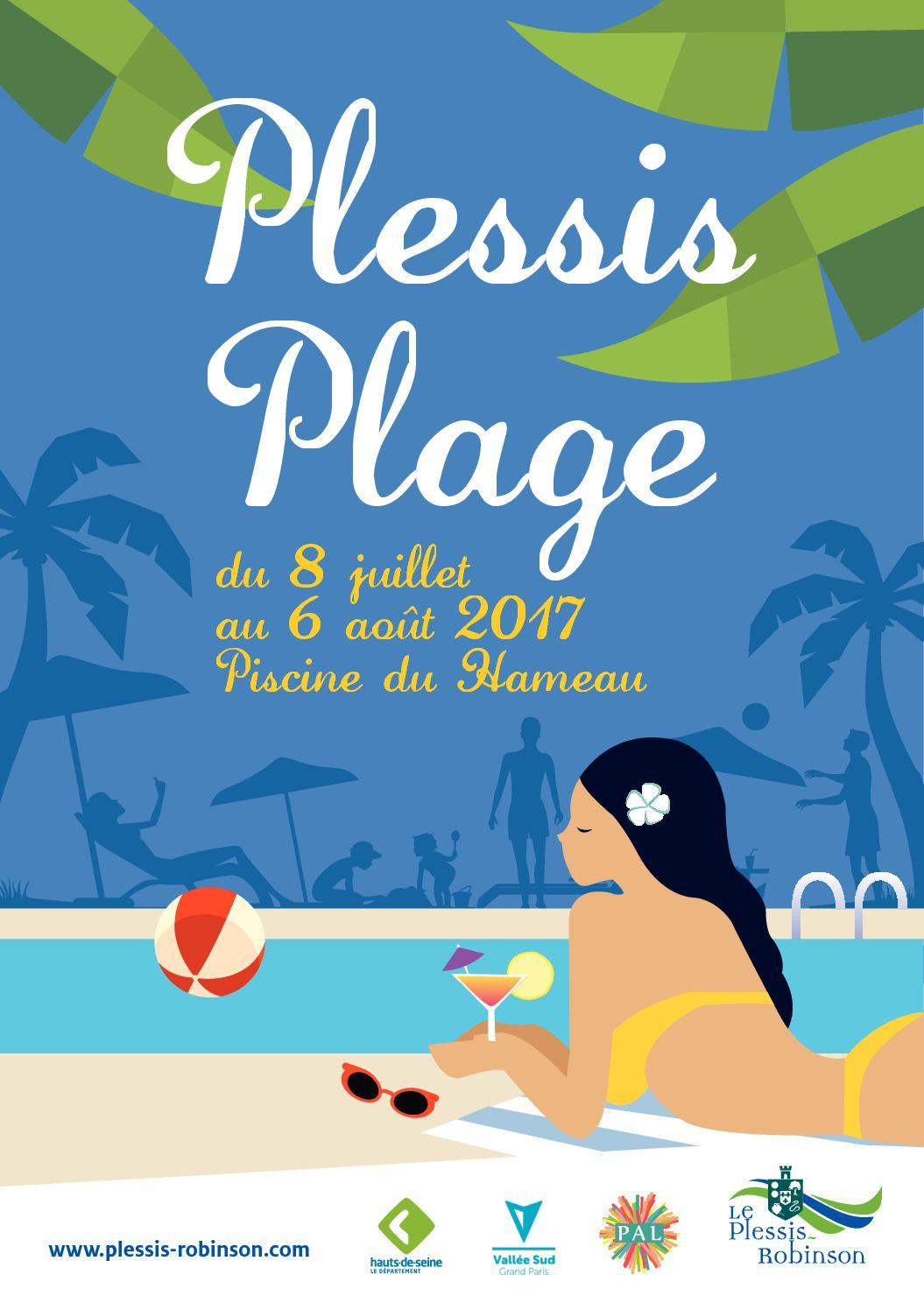 Calaméo - Plessis-Plage 2017 - Programme pour Piscine Plessis Robinson