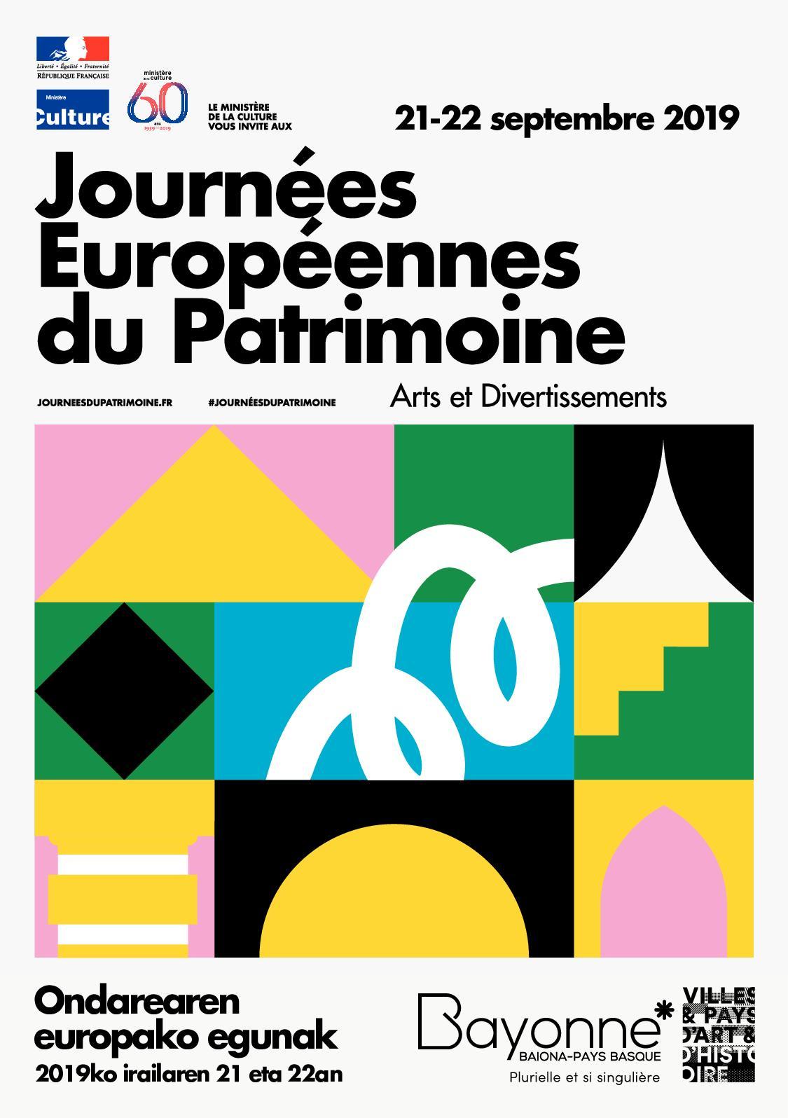Calaméo - Programme Journées Européennes Du Patrimoine 2019 avec Centre Aquatique Des Hauts De Bayonne Piscine Bayonne