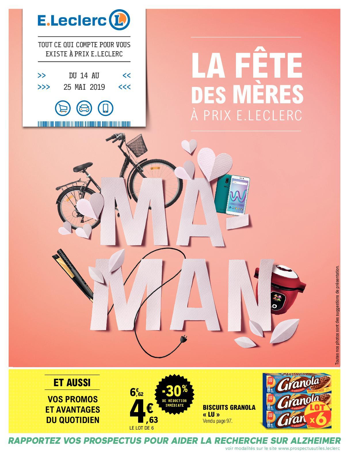 Calaméo - V3 - La Fête Des Mères À Prix E.leclerc destiné Leclerc Piscine Tubulaire